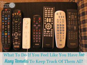Consider using a Logitech Harmony Advanced Universal Remote